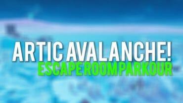 Arctic Avalache escape room parkour!