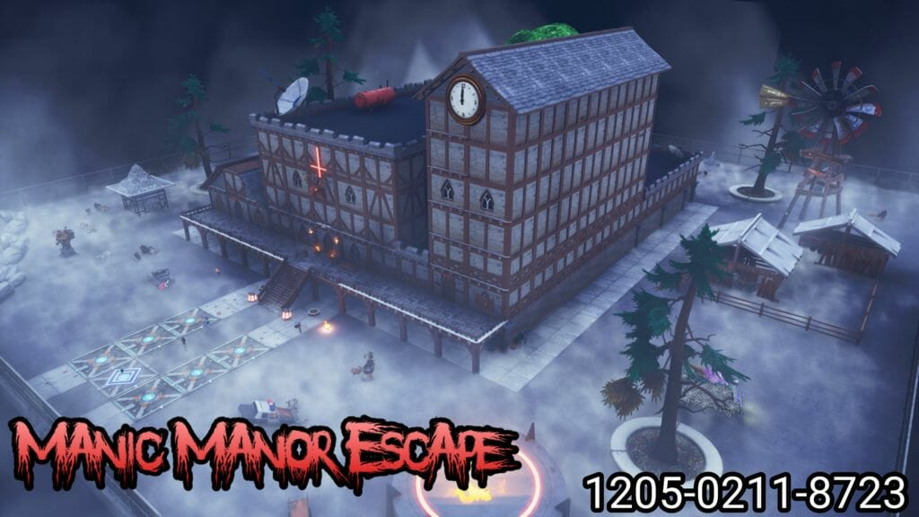 """""""Manic Manor Escape"""" Island by JackTheRipperJM - Fortnite ..."""