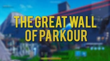 The Great Wall of Parkour!