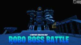 Robo boss battle