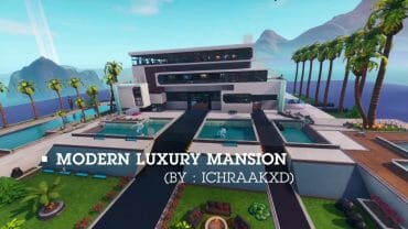 Modern luxury mansion