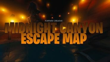 Midnight Canyon Escape Map