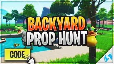 Backyard Prop Hunt (Night)
