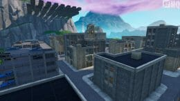 Tilted Towers mini Battle Royale