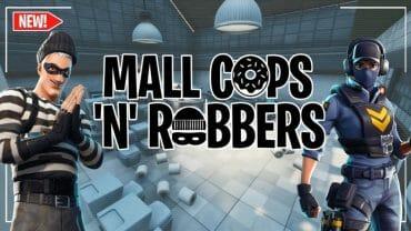 MALL COPS VS. ROBBERS!