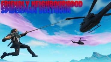 Friendly Neighborhood Spiderman Deathrun