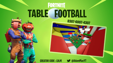 Fortnite Table Football (Fully Interactive Game)