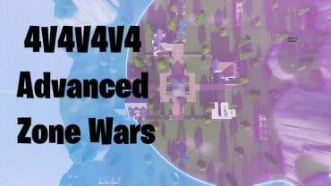 4v4v4v4 Advanced Zone Wars (V1.0)