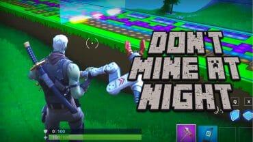 Don't Mine At Night MUSIC BLOCK REMAKE