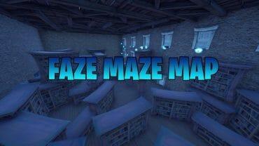Faze Maze Map