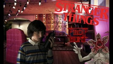 Stranger Things Byers House PROP HUNT