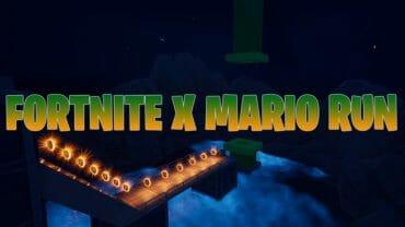 Fortnite X Mario Run v1