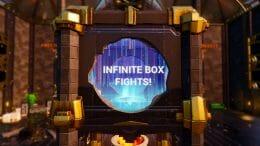 infinite box fights blurred bg