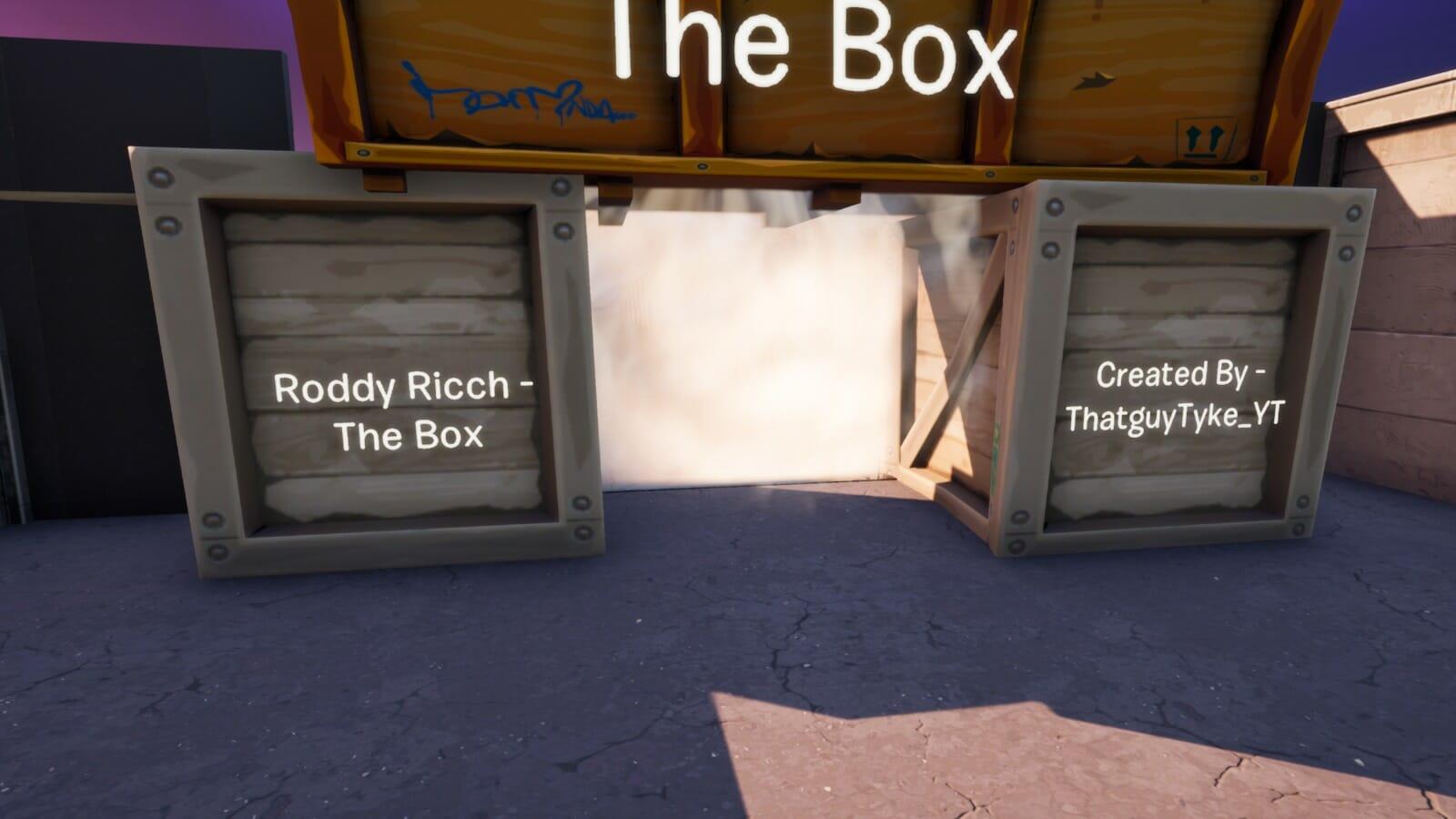 Roddy Ricch The Box Music Blocks Thatguytyke Yt Fortnite