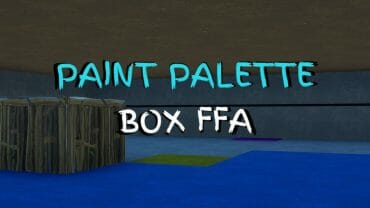 Paint Palette Box FFA