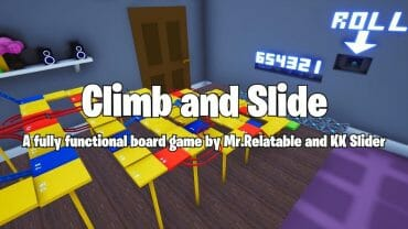 Climb & Slide Board Game