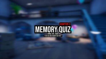 Memory quiz chapter 2