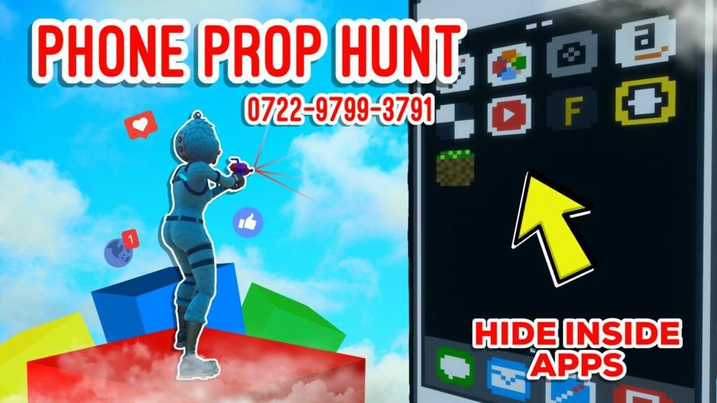 Phone Prop Hunt [eatyoushay] – Fortnite Creative Map Code