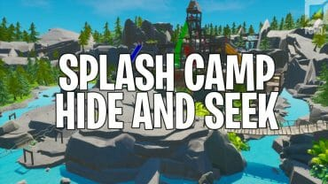 Splash Camp Hide and Seek