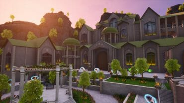 Mountainside Mansion | Hub