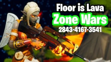 Floor is Lava Zone Wars