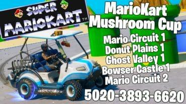 Super MarioKart Mushroom Cup