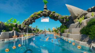 Swim 'N Slide!