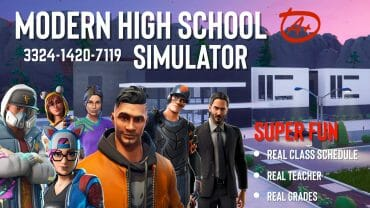 Modern High School Simulator