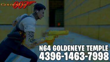 N64 Goldeneye Temple