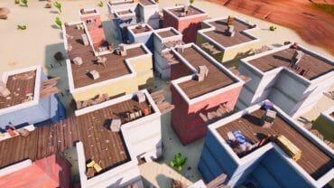 Roof top gungame