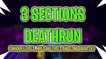 3 Sections Deathrun